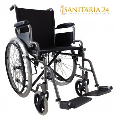 Carrozzina standard practica easy a doppia crociera for Sedia a rotelle doppia crociera