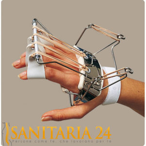 Ferula dr. Bunnel per mano per estensione metacarpi e dita Ro+Ten Splint